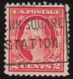 MALACK 499 XF-SUPERB, nice large stamp gu1341