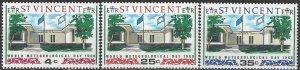 St. Vincent  256-8  MNH  UPU World Meteorology Day