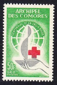 Comoro Is. Red Cross Centenary 1v SG#34 MI#53