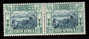 South Africa 1938 Voortrekker Cent Memorial Fund ½d+½d SG 76 mint