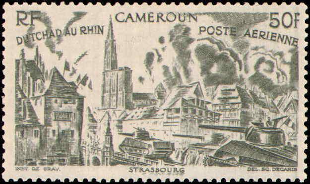 Cameroun #C9-C14, Complete Set(6), Hinged