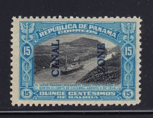Canal Zone # 50 VF-XF OG lightly hinged cv $ 50  ! see pic !