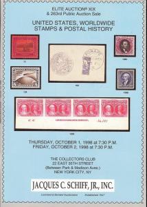 United States, Worldwide Stamps & Postal History, Schiff ...