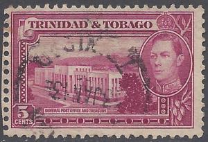 Trinidad & Tobago 1941  #54 Used