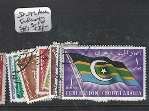 FEDERATION OF SOUTH ARABIA  (P1905B) SET  TO 1D  SG 3-16  VFU