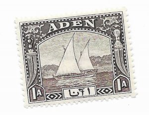 Aden #3 MH - Stamp CAT VALUE $4.50