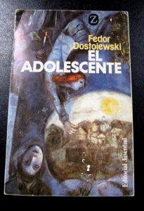 Fedor Dostoiewski El Adolescente Spanish Edition Libro en Espanol Used