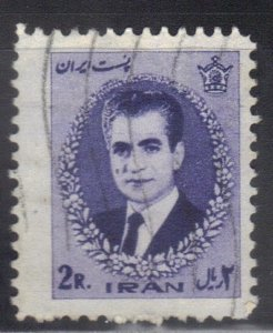IRAN SC #1377 **USED** 2r 1966-71  SHAH  SEE SCAN