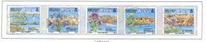 Jersey Sc 1092a-e 2003 Offshore Reefs stamp set used