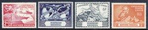 Northern Rhodesia - Scott #50-53 - MNH - SCV $5.00