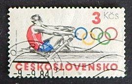 Sport, Olympian Games, Czechoslovakia, №1128-Т