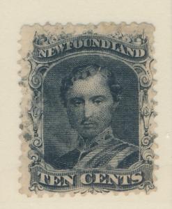 Newfoundland (Canada) Stamp Scott #27, Used - Free U.S. Shipping, Free Worldw...