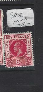 SEYCHELLES  (PP2705B)  KGV  6C SG 85    MNH