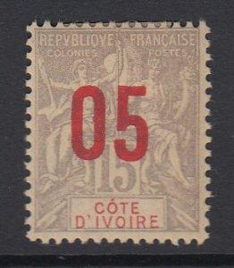 IVORY COAST, Scott 37, MHR
