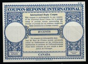 Kanada, 15 Cents Gutschein Response International, Ungebraucht