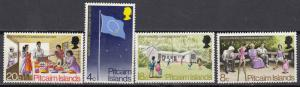 Pitcairn Island -1972 Pacific Commission Sc# 123/126 - MNH (350N)