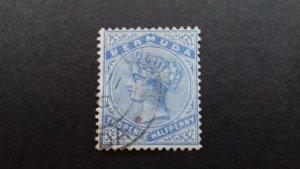 Bermuda 1883 -1898 Queen Victoria - New Watermark