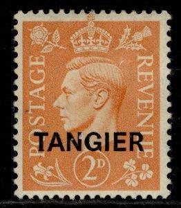 MOROCCO AGENCIES GVI SG261, 2d pale orange, M MINT.