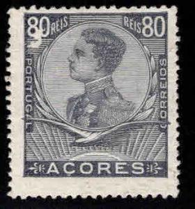 Azores Scott 120 MH* stamp scuff at top left