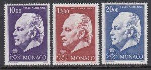 Monaco C81-3 Prince Rainier III mnh
