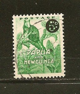 Papua New Guinea 147 Surcharged Used