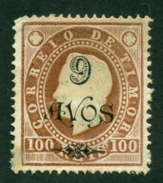 Timor 1902 #88 MNG SCV(2020)=$7.75