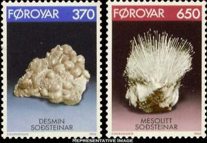 Faroe Islands Scott 241-242 Mint never hinged.