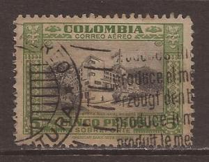 Columbia Scott #133 used stock #N4317