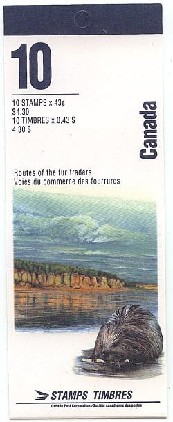 Canada - 1994 Heritage Rivers Booklet #BK170a Closed Cover