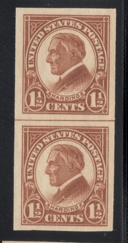 US#576 Yellow Brown - Pair - Used