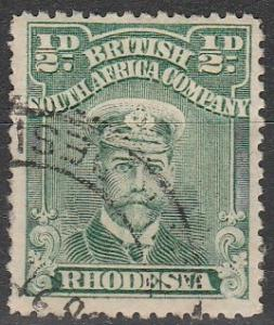 Rhodesia #119 F-VF Used CV $2.50  (V581)