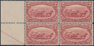 #286 BLOCK OF 4 VF-XF OG (2)LH (2)NH BP0396