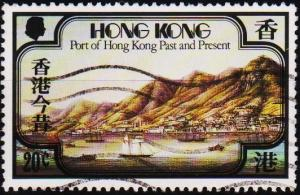 Hong Kong. 1982 20c S.G.407 Fine Used