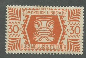 Wallis & Futuna Scott Catalog Number 130 Issued in 1944