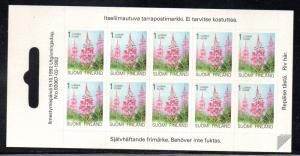 Finland Sc 838 1992 Rosebay Willowherb stamp sheet mint NH