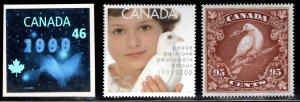 Canada Scott 1812-1814 MNH**  Millennium set