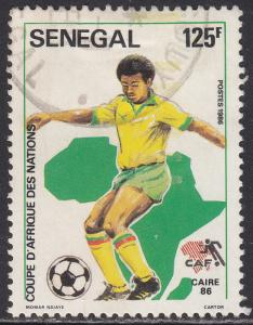 Senegal 673 Africa Cup Soccer 1986