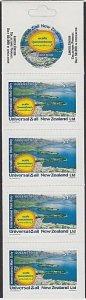 NEW ZEALAND Universal Mail $7.50 International Mail Booklet - Queenstown....R525