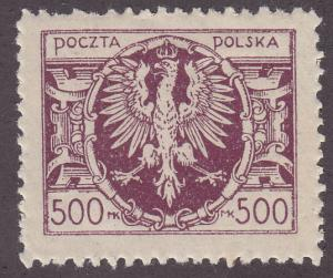 Poland 169 Polish Eagle 1923