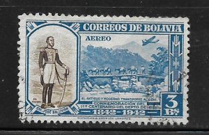 BOLIVIA, C94, USED, GENERAL JOSE BALLIVIAN