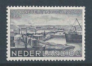 Netherlands #202 NH 6c Curacao Anniv. - Willemstad Harbor