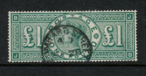 Great Britain #124 Very Fine Used With Rich Color