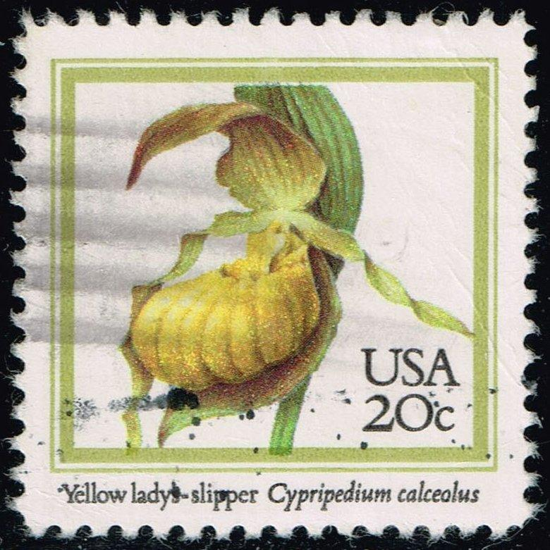US #2077 Yellow Lady's Slipper; Used (0.25)