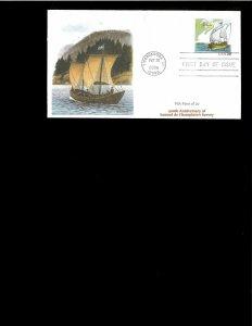 2006 FDC Samuel de Champlain Ticonderoga NY