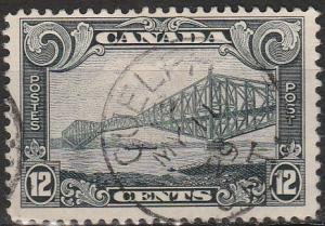 Canada #156  F-VF Used  CV $9.00  (A17450)