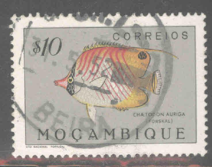 Mozambique Scott 333 Used Fish