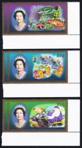 2007 Cook Islands 1603-1605 Fauna / Elizabeth 65,00 €