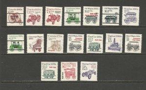 United States Postal Stamps, Transportation