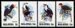 HERRICKSTAMP MALAYSIA Sc.# 266-69 Birds Mint NH Stamps Cat. Value $12.00