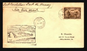 Canada 1929 FFC - Ft Resolution to Ft McMurray - Z16661